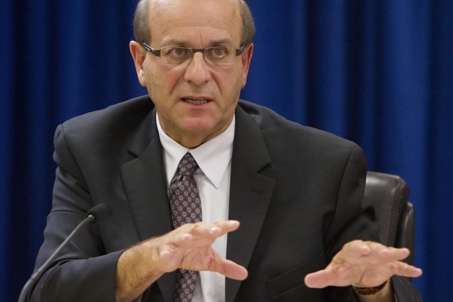 L'ancien sous-ministre de la Justice, Michel Bouchard.... (Photo Clement Allard, PC)