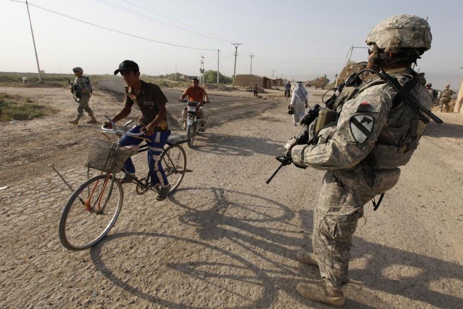 Le Pentagone a déclaré que le gouvernement américain... (Photo Mohammed Ameen, Archives Reuters)