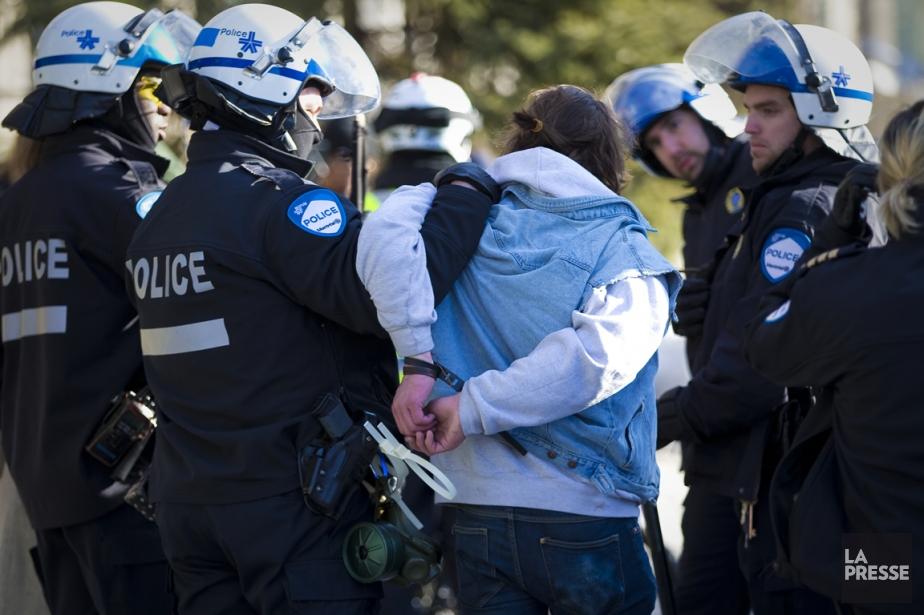 Le Service de police de la Ville de... (Photo André Pichette, archives La Presse)