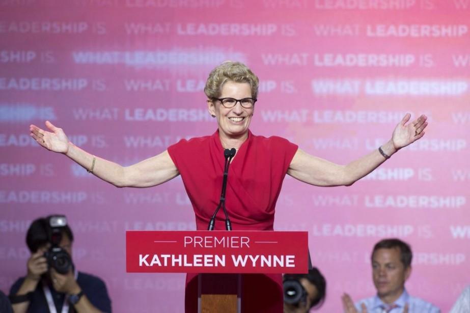 La première ministre de l'Ontario Kathleen Wynne.... (La Presse Canadienne)