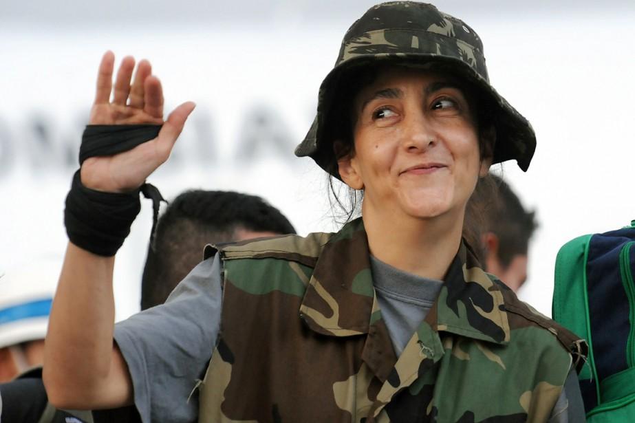 Ancien otage de nationalité franco-colombienne, MmeBetancourt avait été... (Archives AFP)