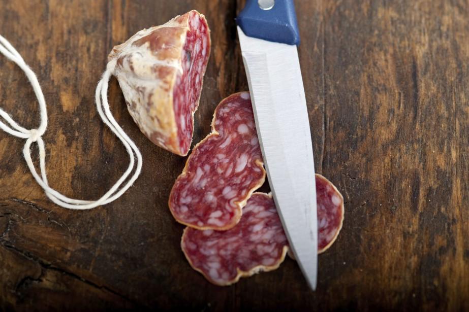 La viande transformée inclut notamment les charcuteries, la... (Photo Digital/Thinkstock)