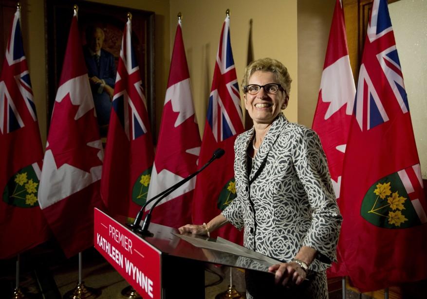 La victoire de Kathleen Wynne est un véritable... (Photo Nathan Denette, La Presse Canadienne)