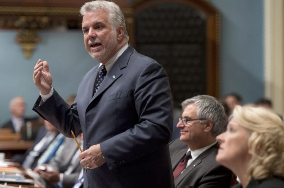 Le gouvernement Couillard concluait sa première session, hier,... (PHOTO JACQUES BOISSINOT, LA PRESSE CANADIENNE)