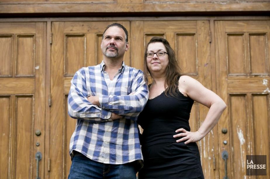 Le cinéaste Michel Jetté et sa conjointe, Louise... (Photo François Roy, La Presse)