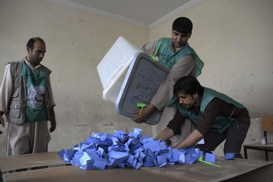Les deux candidats à l'élection présidentielle ont été... (PHOTO FARSHAD USYAN, AFP)
