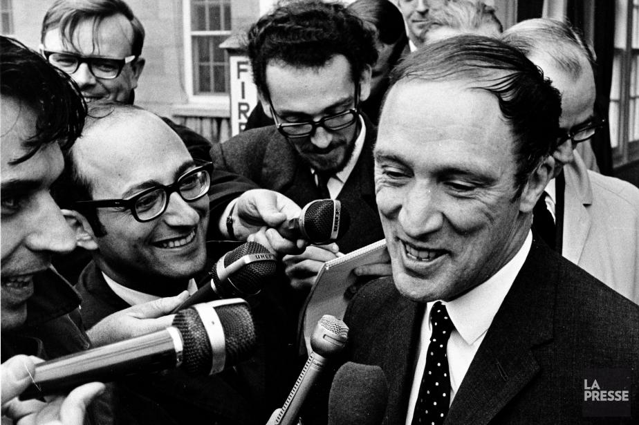 Pierre Elliott Trudeauarrive en tête des Canadiens ayant... (Photo Michel Gravel, Archives La Presse)