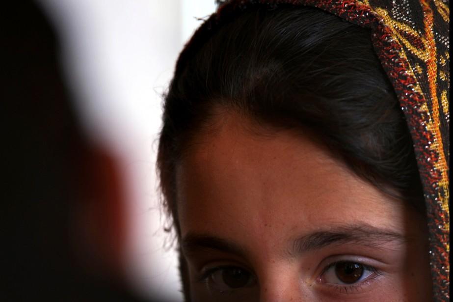 LA Forced Marriage Unit a traité l'année dernière... (PHOTO AAMIR QURESHI, ARCHIVES AFP)