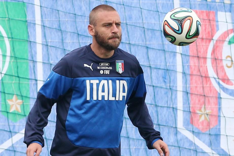 Daniele De Rossi... (Photo Antonio Calanni, AP)