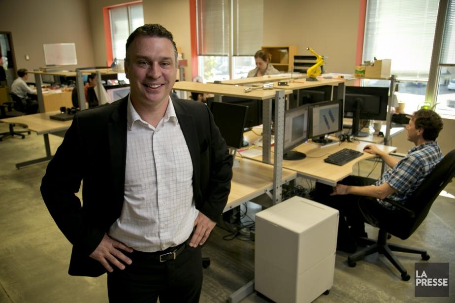 Éric Bélanger, président d'AGT, note que l'activité physique... (PHOTO DAVID BOILY, LA PRESSE)