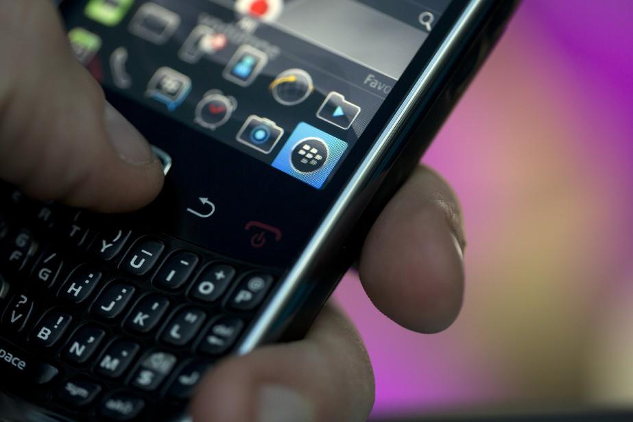 Le fabricant de téléphones intelligents... (Photo Simon Dawson, Bloomberg)