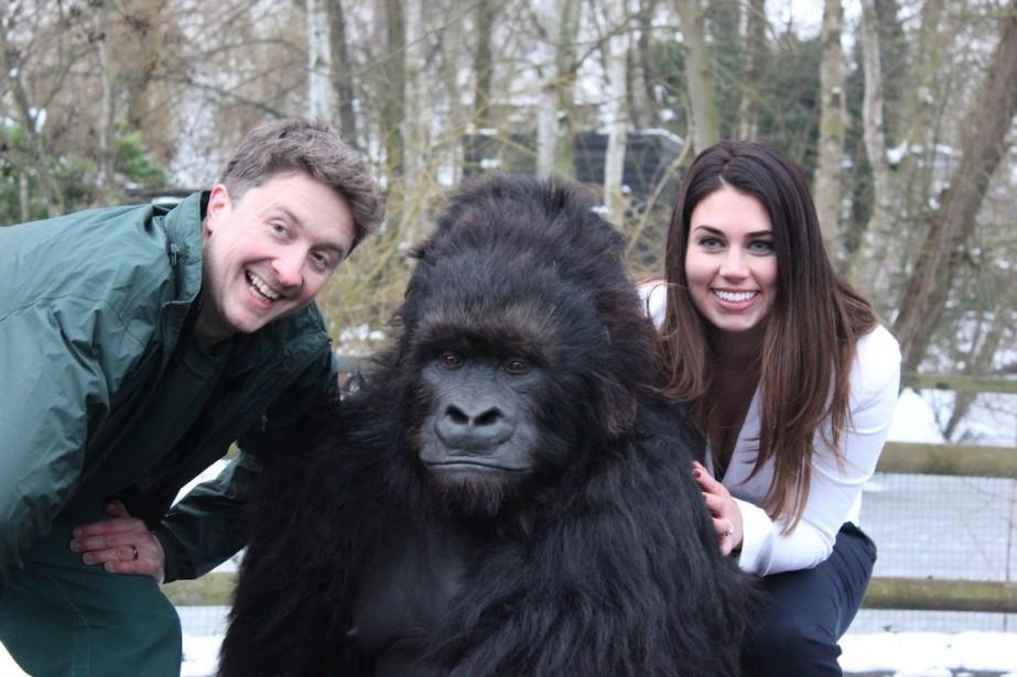 L'émissionQui singe qui?... (Photo fournie par ICI Explora)