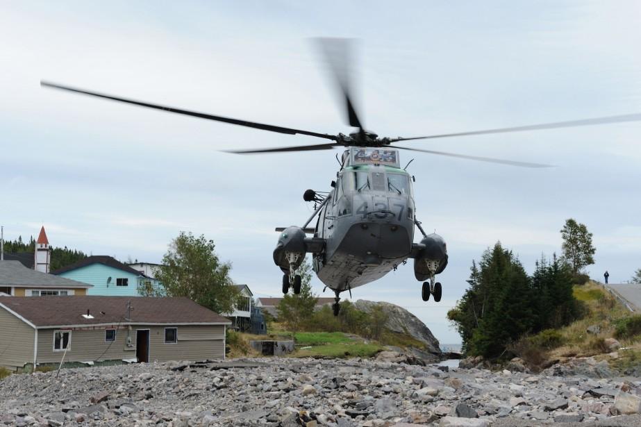 L'accord avec Sikorsky Aircraft - une division de... (Photo fournie par l'armée canadienne)