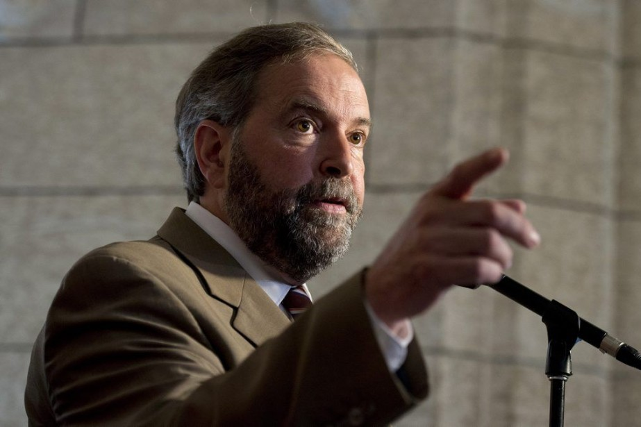 Thomas Mulcair... (Photo Adrian Wyld, La Presse Canadienne)