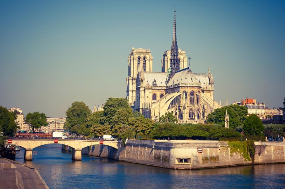 La cathédrale Notre-Dame de Paris, dans l'île de la Cité. (Photo Digital Vision/Thinkstock)