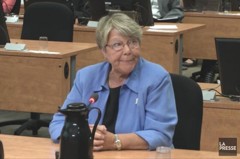 Lucie Papineau... (Image vidéo)