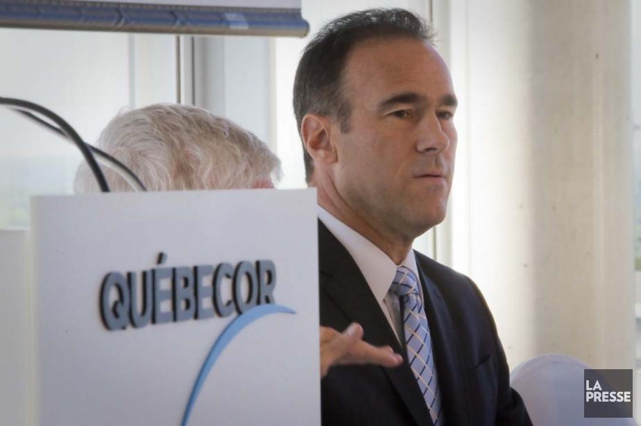Le PDG de Québecor, Pierre Dion, a prévenu... (Photo André Pichette, archives La Presse)