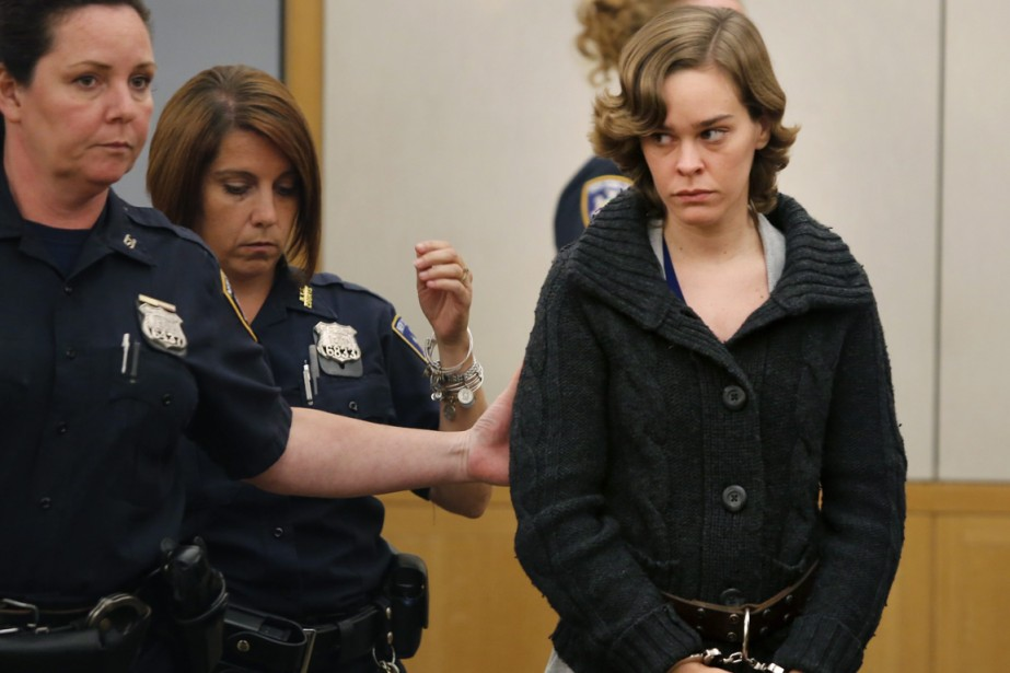 D'après la police, l'Américaine Lacey Spears aurait empoisonné... (PHOTO RICK FLORES, ASSOCIATED PRESS)