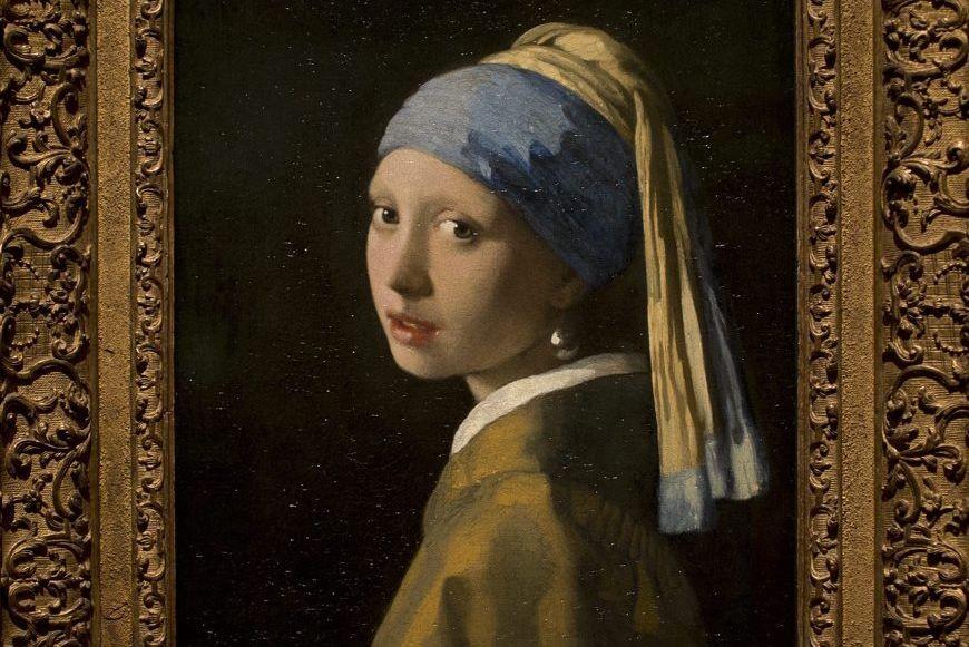 «La jeune fille à la perle(de Johannes Vermeer)est... (Photo Peter Dejong, AP)