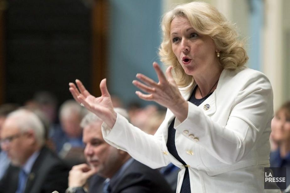 La ministre de la Sécurité publique du Québec,... (archives La Presse Canadienne)