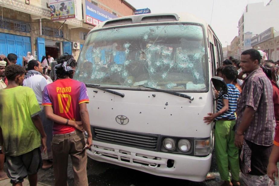 Une attaque a tué huit personnes dimanche dernier... (Photo AFP)