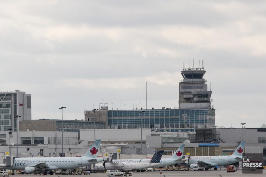 L'aéroport Pierre-Elliott Trudeau... (PHOTO DAVID BOILY, ARCHIVES LA PRESSE)