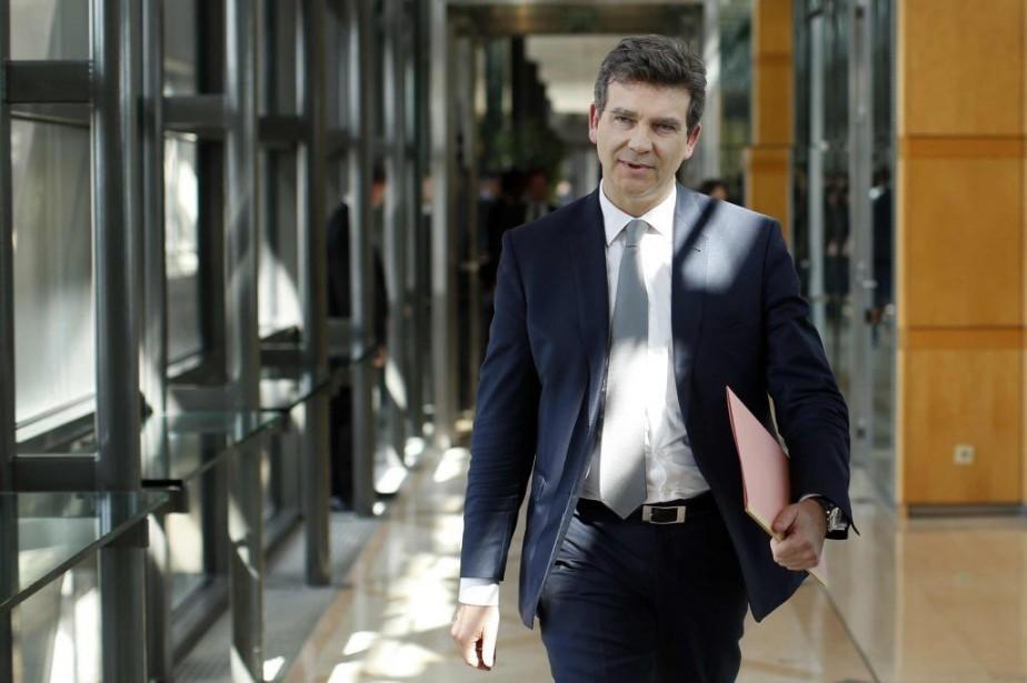 Le ministre de l'Économie, Arnaud Montebourg.... (PHOTO BENOIT TESSIER, REUTERS)