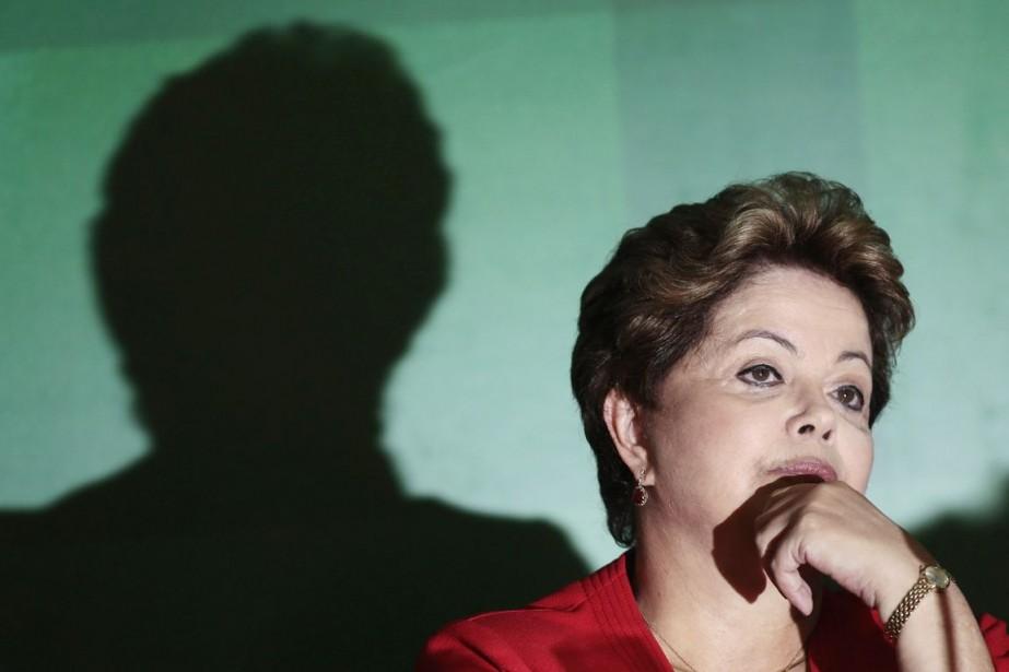 La présidente brésilienne Dilma Rousseff.... (PHOTO UESLEI MARCELLINO, REUTERS)