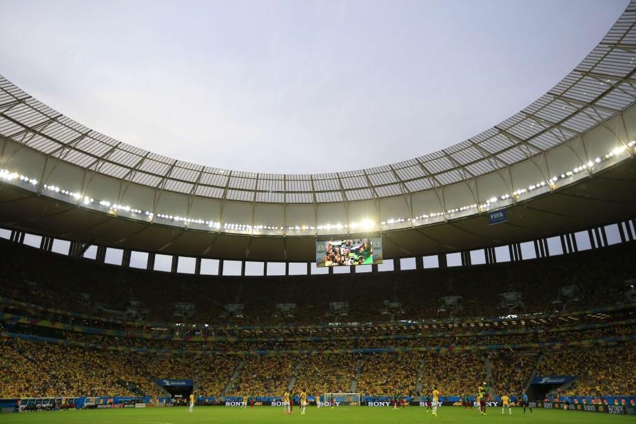 Contrairement aux craintes initiales, la Coupe du... (PHOTO ADRIAN DENNIS, AFP)