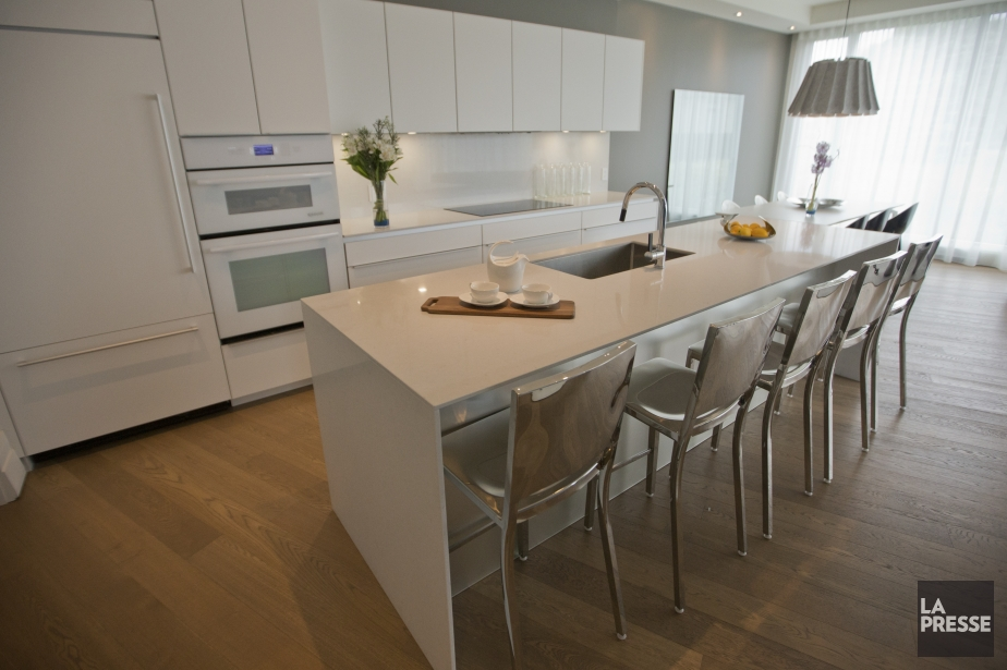 Les cuisines haut de gamme seront de la... (Photo Ivanoh Demers, La Presse)