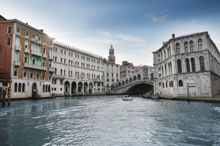 C'est dans les rues de Venise qu'Hugo Pratt,... (Photo Thinkstock)