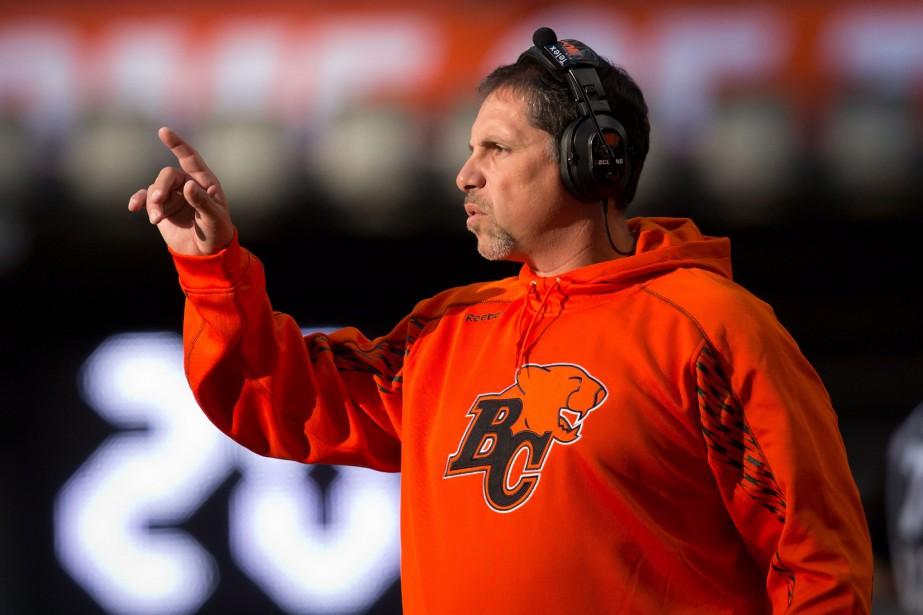 Mike Benevides a été l'entraîneur-chef des Lions de... (Photo DARRYL DYCK, archives PC)