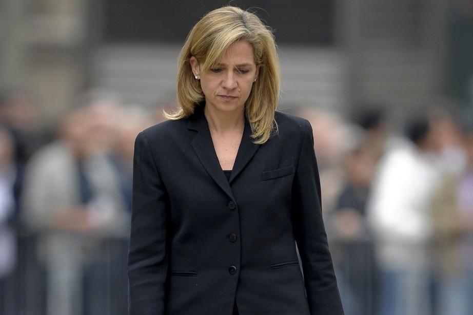 Cristina, âgée de 49 ans, soeur du roi... (PHOTO JOSEP LAGO, AFP)