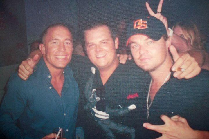 Georges St-Pierre,Joey Cournoyer, le frère du caïd Jimmy... (Photo courtoisie)