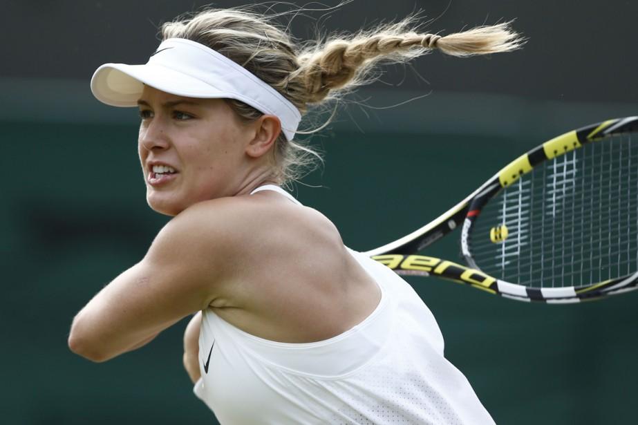 Eugenie Bouchard a aisément battu l'Espagnole Silvia Soler-Espinosa,... (Photo Andrew Cowie, AFP)