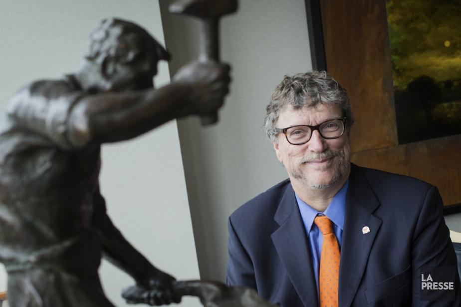Pierre Somers, président et chef de la direction... (Photo Édouard Plante-Fréchette, La Presse)
