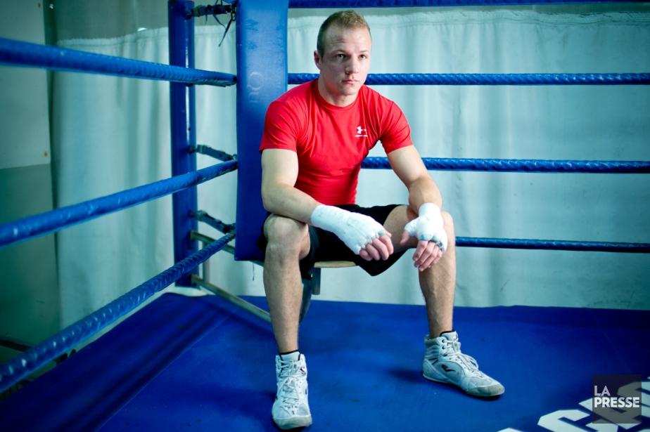 Le boxeur David Théroux fera ses débuts professionnels... (Photo David Boily, La Presse)
