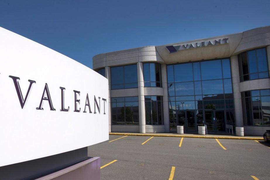 La société pharmaceutique lavalloise Valeant( (PHOTO ARCHIVES PC)