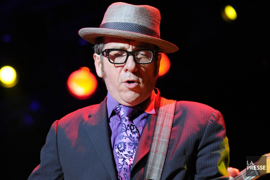 Elvis Costello... (PHOTO BERNARD BRAULT, ARCHIVES LA PRESSE)