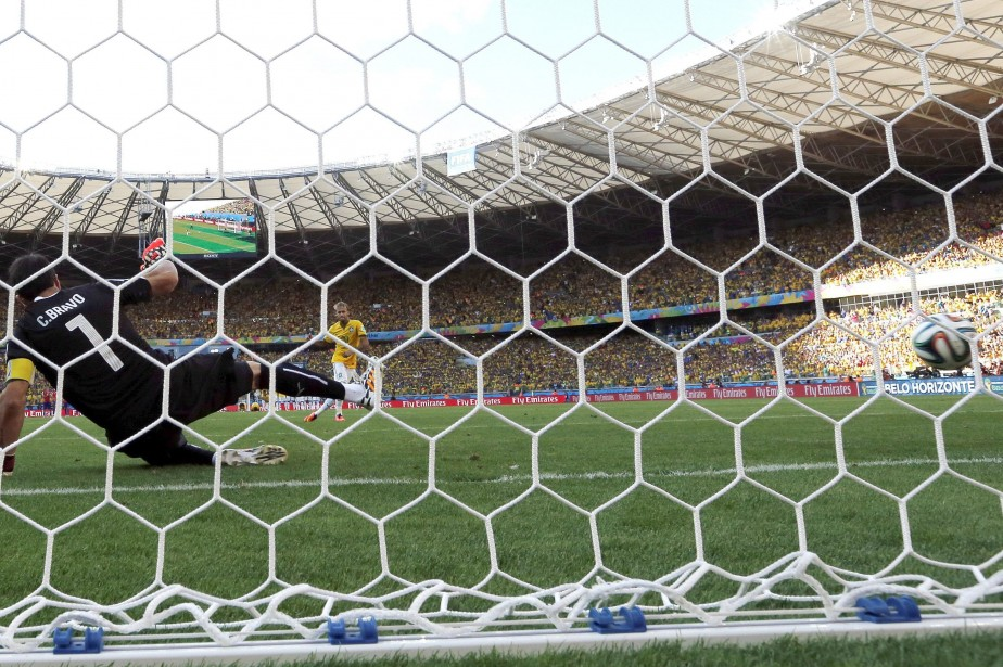 Le match Brésil-Chili, qui a vu l'hôte du... (Photo Manu Fernandez, AP)