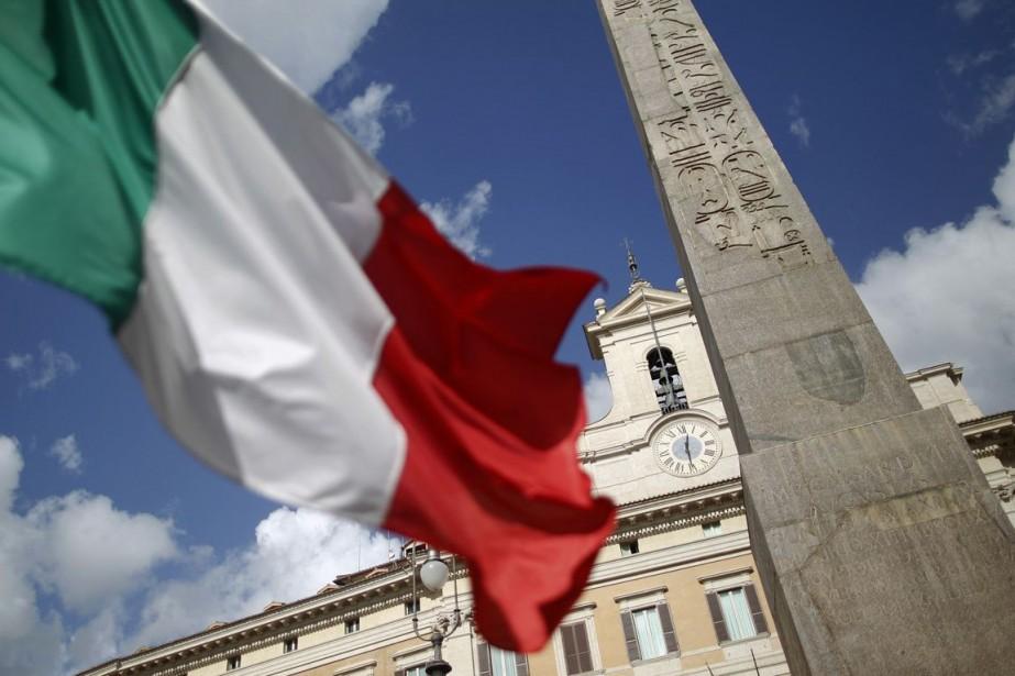 Le Produit intérieur brut de l'Italie a baissé... (Photo d'archives Reuters)