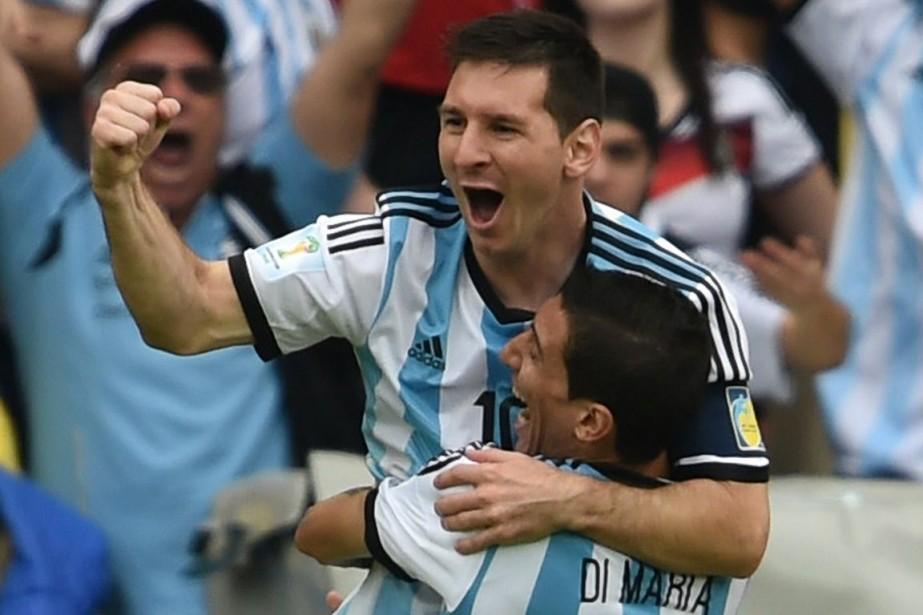 Lionel Messi Messi s'est chargé de quatre des... (Photo AFP)