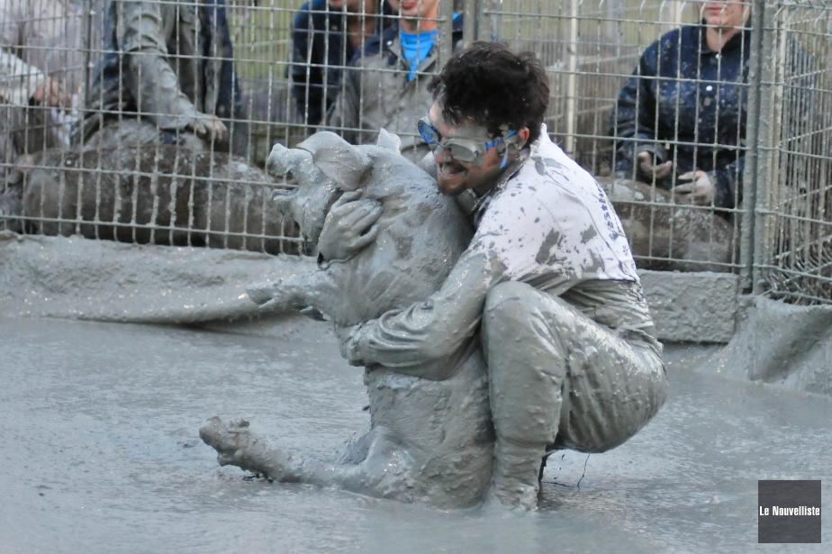 George Laraque, qui milite contre la cruauté animale,... (Photo archives Le Nouvelliste)