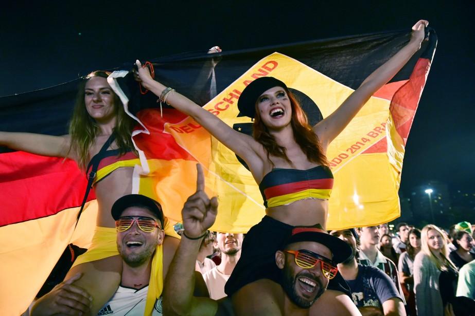 La vedette des quarts sera le match France-Allemagne,... (Photo archives AFP)