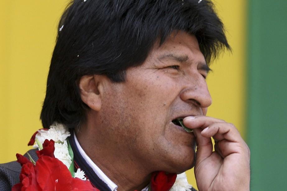 Evo Morales... (Photo Gaston Brito, Archives Reuters)