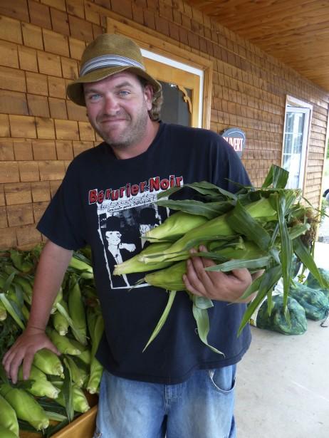 Les producteurs de maïs sucré de Neuville revendiquent une indication géographique protégée. (PHOTO YVES OUELLET, COLLABORATION SPÉCIALE)