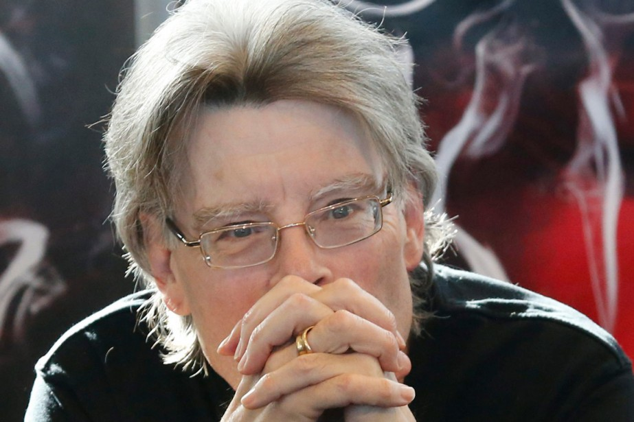 Stephen King... (PHOTO ARCHIVES AP)