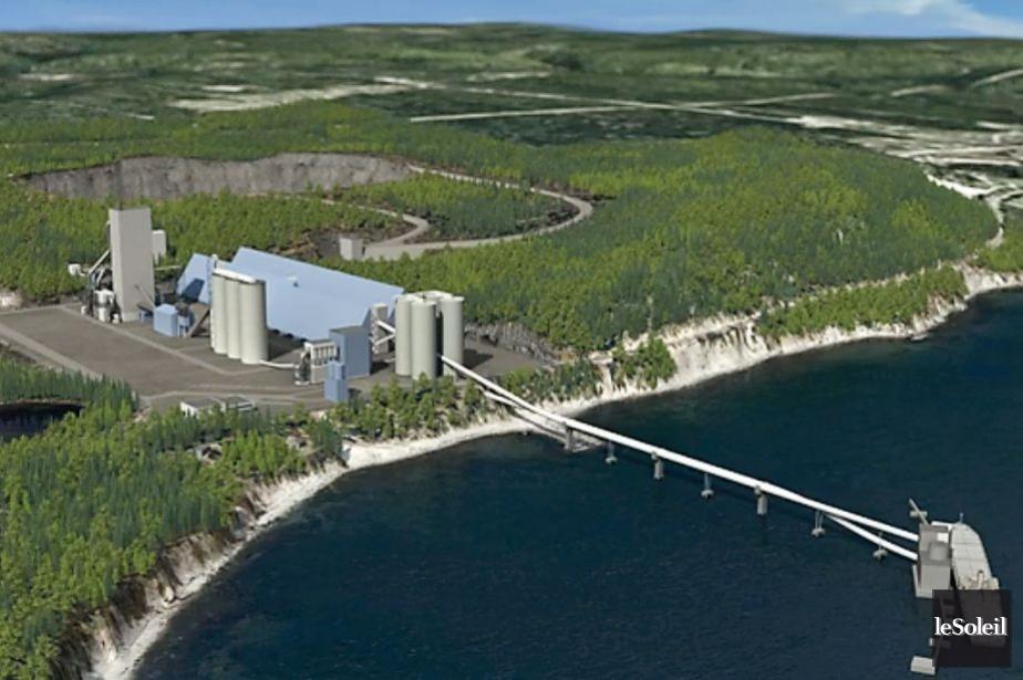 Le projet de cimenterie de Port-Daniel-Gascons.... (PHOTO ARCHIVES LE SOLEIL)