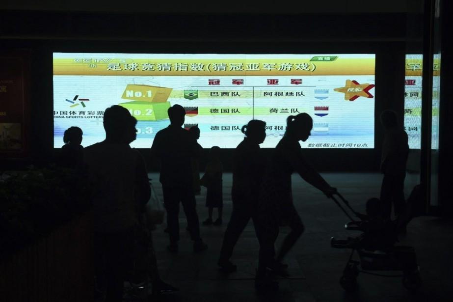 Selon une enquête du journal sportif chinoisTitan, pas... (PHOTO GREG BAKER, AFP)