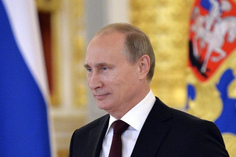 Vladimir Poutine a aussi souligné que «la Russie... (PHOTO YURI KADOBNOV, ARCHIVES AP)